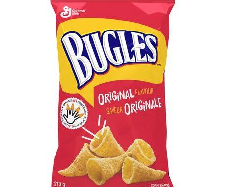 Save $0.50 off (2) Bugles Original Corn Snacks Coupon