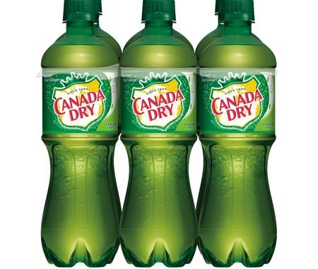 Save $0.75 off (1) Canada Dry Ginger Ale & Lemonade (6-Pack) Coupon