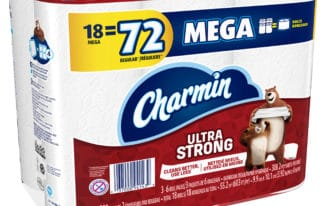 Save $3.00 off (1) Carmin Mega Rolls Toilet Paper Coupon