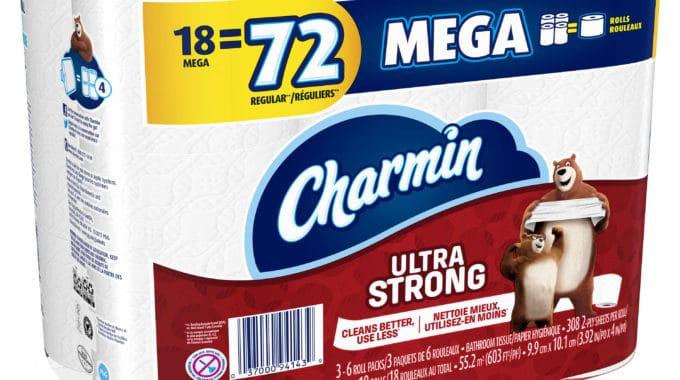 Save $3.00 off (1) Carmin Mega Rolls Toilet Paper Coupon