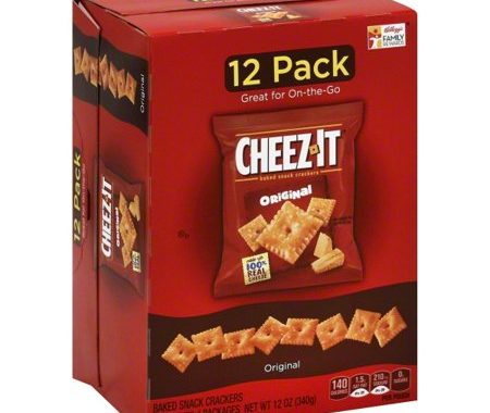 Save $1.00 off (2) Cheez It Baked Snack Crackers Multipack Coupon