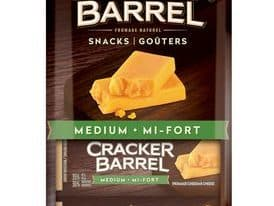 Save $1.00 off (1) Cracker Barrel Cheese Snacks Coupon