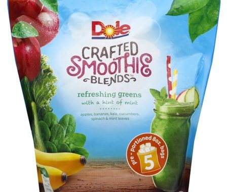 Save $2.00 off (1) Dole Crafted Smoothie Blends Coupon