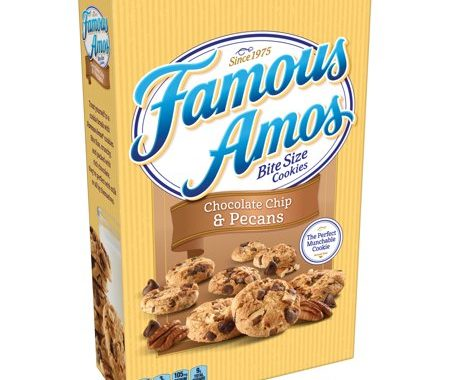 Save $1.00 off (2) Famous Amos Bite Size Cookies Coupon