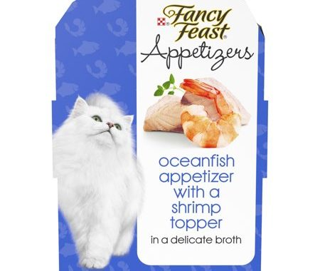 Save $1.00 off (5) Fancy Feast Appetizers Printable Coupon