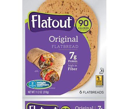Save $0.75 off (1) Flatout Original Flatbread Coupon