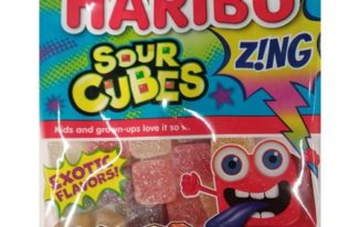 Save $0.50 off (1) Haribo Z!ng Sour Cubes Printable Coupon