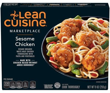 Save $2.00 off (1) Lean Cuisine Marketplace Sesame Chicken Coupon