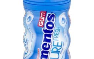 Save $0.50 off (1) Mentos Sugar Free Gum Bottle Coupon