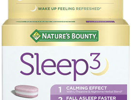 Save $5.00 off (1) Nature's Bounty Sleep3 Printable Coupon