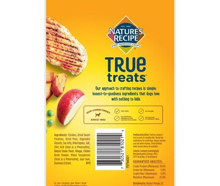 Save $1.75 off (1) Nature's Recipe True Treats Printable Coupon