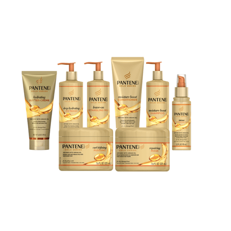 graphic about Pantene Coupons Printable called Help you save $1.00 off (1) Pantene Gold Goods Coupon