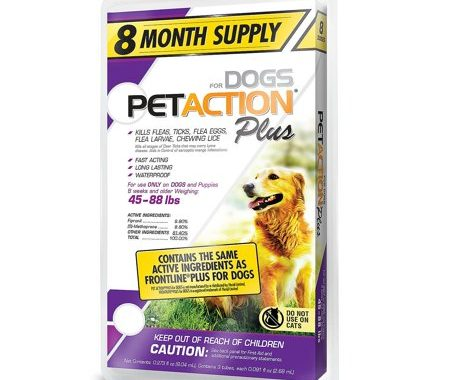 Save $8.00 off (1) PetAction Plus for Dogs Coupon