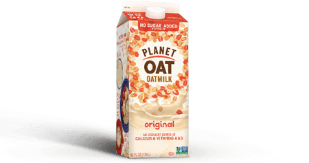 Save $1.00 off (1) Planet Oat Oatmilk Printable Coupon