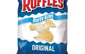 Save $1.00 off (2) Ruffles Original Potato Chips Coupon