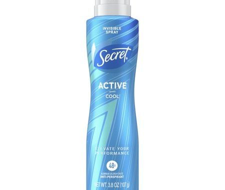 Save $0.50 off (1) Secret Invisible Spray Antiperspirant Coupon