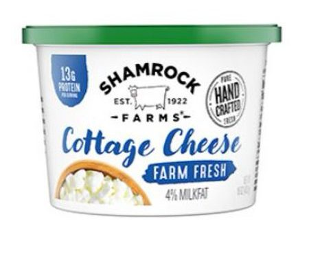 Save $0.65 off (1) Shamrock Farms Cottage Cheese Coupon