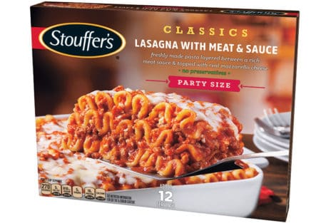 graphic relating to Stouffers Coupons Printable called Preserve $2.00 off (1) Stouffers Clics Lasagna with Meat