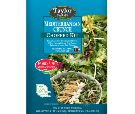 Save $0.50 off (1) Taylor Farms Chopped Salad Kit Coupon