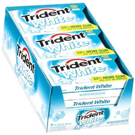 graphic about Trident Coupons Printable named Preserve $1.00 off (1) Trident White Sugar Absolutely free Gum Coupon