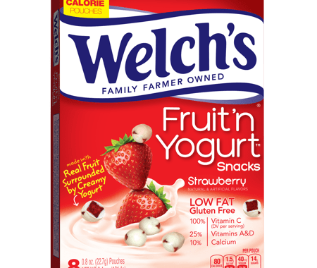 Save $0.50 off (1) Welch's Fruit n' Yogurt Snacks Coupon