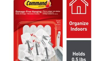 Save $3.00 off (1) 3M Command Medium Wire Hooks Coupon