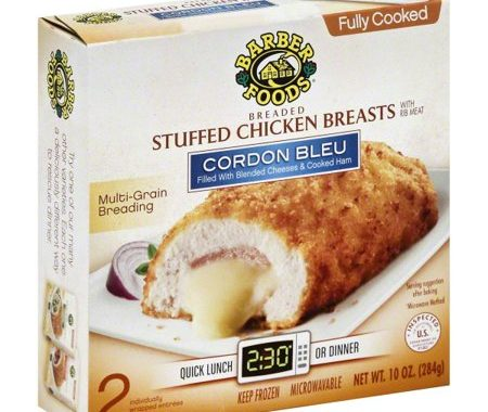 Save $2.50 off (1) Barber Foods Premium Stuffed Chicken Breast Coupon