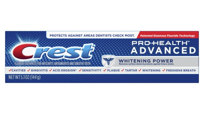 Save $4.00 off (1) Crest Pro-Health Advanced Whitening Coupon