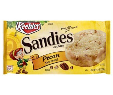 Save $1.00 off (2) Keebler Sandies Cookies Printable Coupon