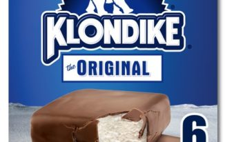 Save $1.00 off (2) Klondike Ice Cream Bar Coupon