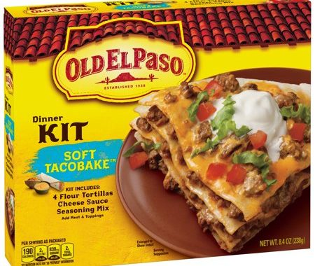 Save $0.75 off (1) Old El Paso Dinner Kit Printable Coupon