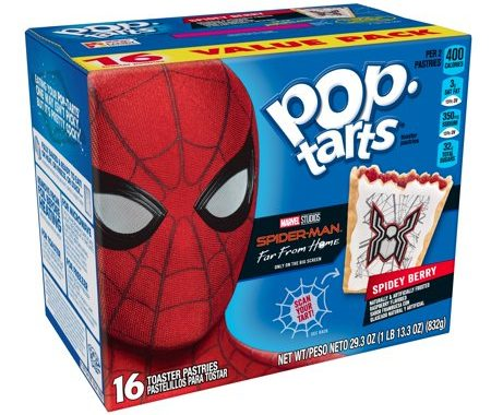 Save $0.50 off (1)Kellogg's Pop Tarts Spidey Berry Coupon