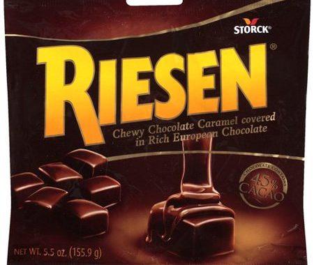 Save $1.00 off (2) Riesen Chocolate Caramel Candy Coupon
