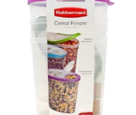 Save $4.00 off (1) Rubbermaid Cereal Keeper Coupon