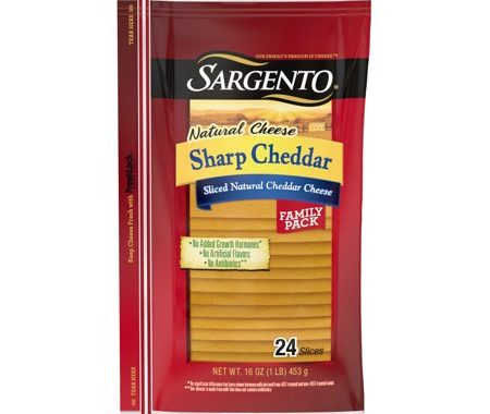 Save $1.00 off (2) Sargento Natural Cheese Slices Printable Coupon