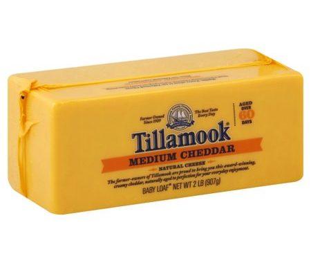 Save $1.50 off (1) Tillamook Cheddar Cheese Coupon