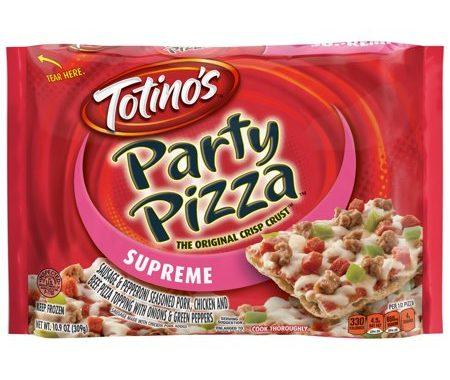 Save $1.00 off (3) Totino's Original Crisp Crust Party Pizza Coupon