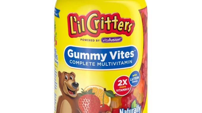 Save $3.00 off (1) Vitafusion L'il Critters Printable Coupon