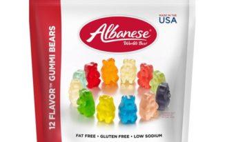 Save $0.50 off (1) Albanese Gummi Bears Coupon