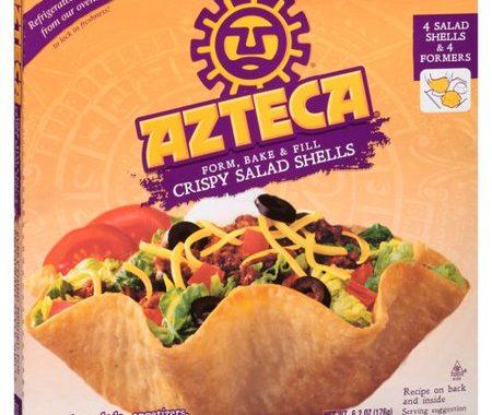 Save $0.25 off (1) Azteca Crispy Salad Shells Coupon
