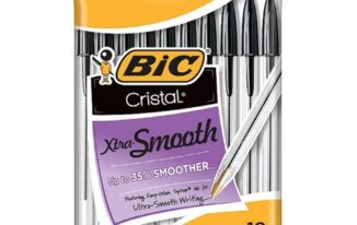 Save $1.00 off (2) BIC Cristal Xtra Smooth Ball Pen Coupon