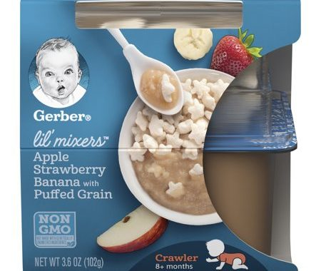 Save $1.00 off (2) Gerber Lil Mixers Printable Coupon