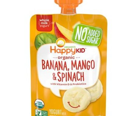 Save $1.25 off (1) Happy Kid Organics Pouch Printable Coupon