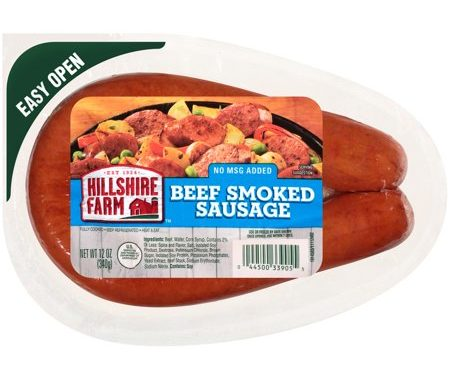 Save $2.00 off (2) Hillshire Farm Smoked Sausage Coupon