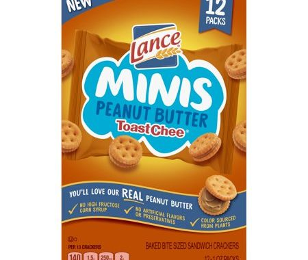Save $1.00 off (2) Lance Peanut Butter ToastChee Multipack Coupon