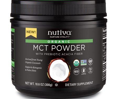 Save $5.00 off (1) Nutiva Organic MCT Powder Coupon