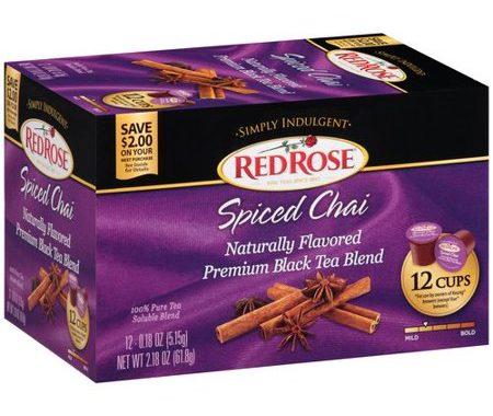 Save $1.00 off (1) Red Rose Simply Indulgent Tea Coupon