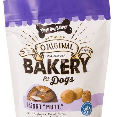 Save $2.00 off (1) Three Dog Bakery Assort Mutt Coupon