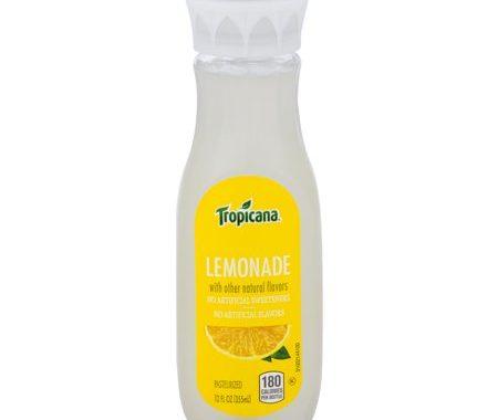 Save $1.00 off (2) Tropicana Lemonades Printable Coupon