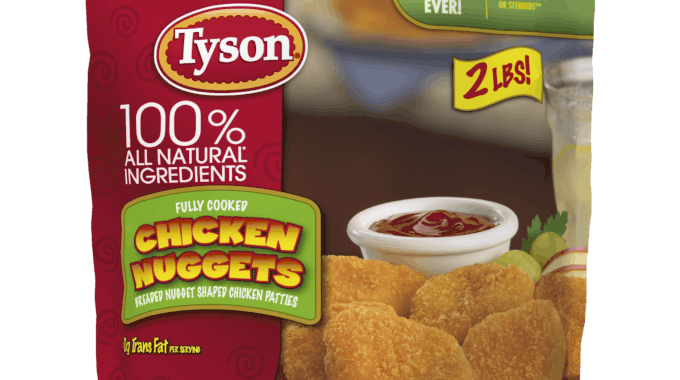 Save $1.00 off (1) Tyson Chicken Nuggets Printable Coupon